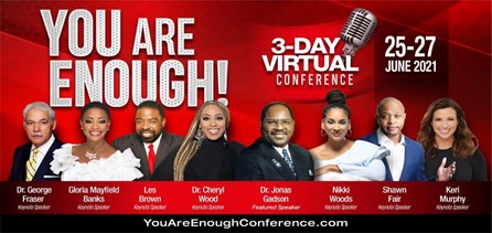 Dr. Cheryl Wood and Les Brown Welcome Dr. Jonas Gadson to the YOU ARE ENOUGH